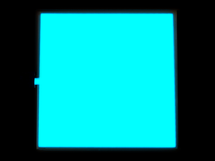 EL Panel - Light Blue 10cm x 10cm