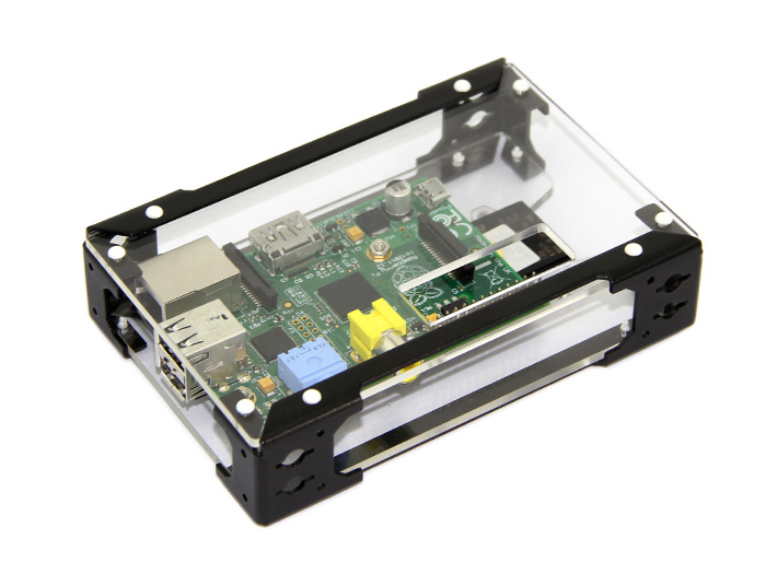 Skeleton box for Raspberry Pi
