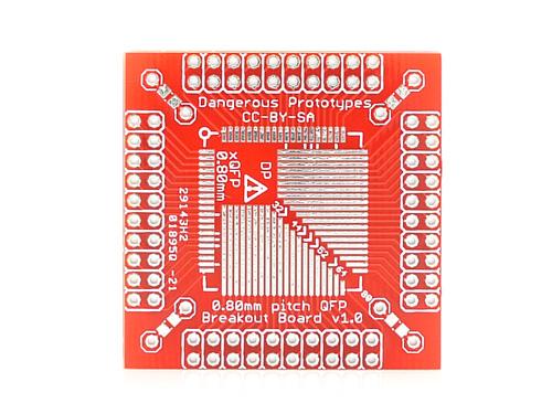 xQFP breakout board - 0.8mm