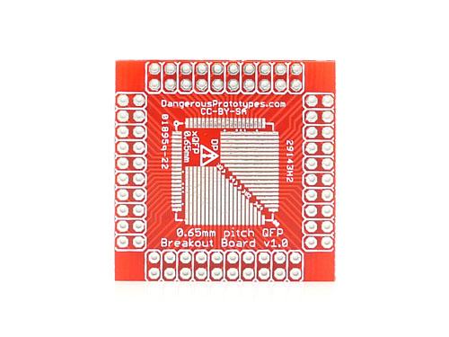 xQFP breakout board - 0.65mm