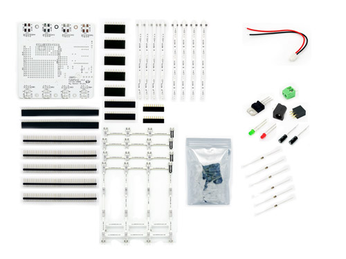 circuit sticker starter kit with english sketchbook