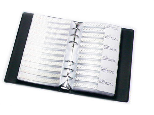 0805 SMT Resistor sample book - 8496 pcs in 177 values(free shipping)