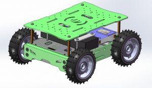 Edison 4WD Auto Robotic Platform