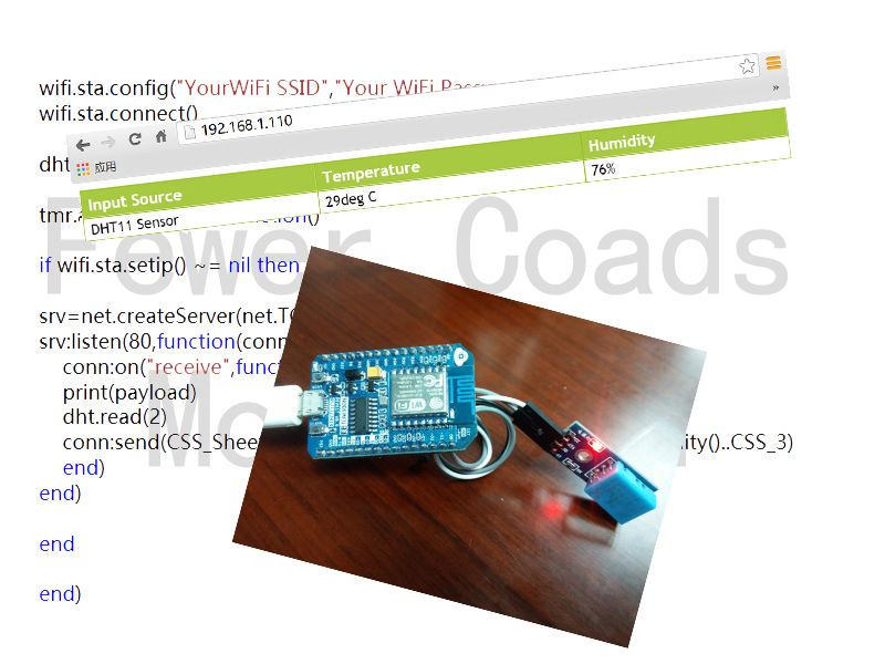 Primary IoT Make with NodeMcu ->ESP8266<-