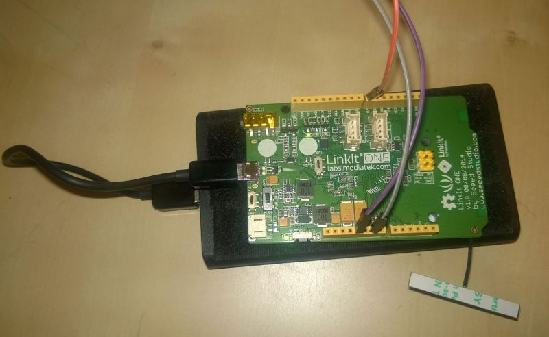 Lamp Control with LinkIt One