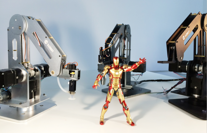 A high precision desktop Dobot arm- Seeed cc