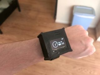 Make your own smart watch- Seeed cc