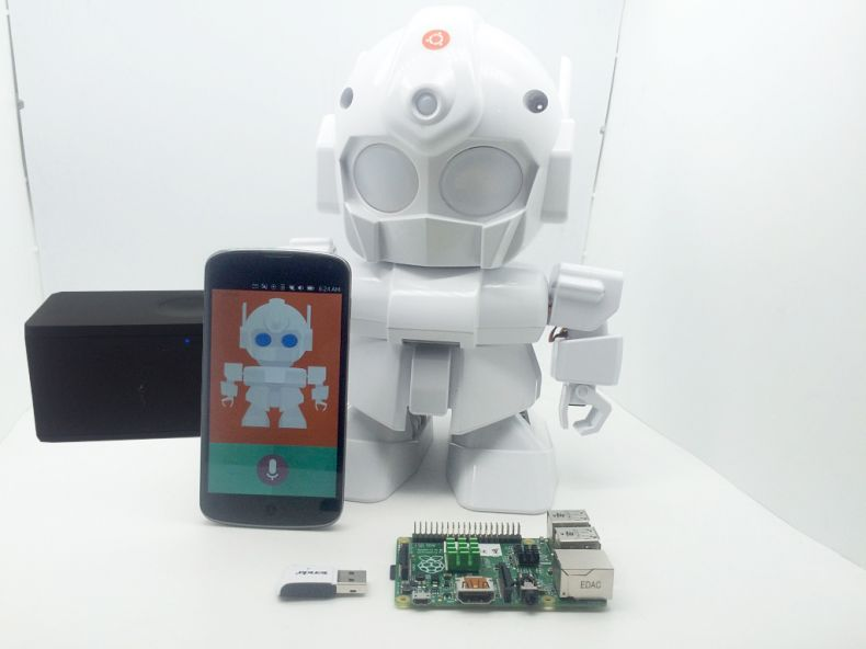 MrRobot - Ubuntu Mobile app enabled Robotics( Rasp
