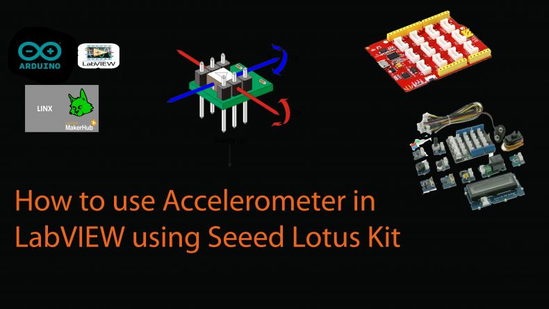 How to acquire accelerometer data into LabVIEW