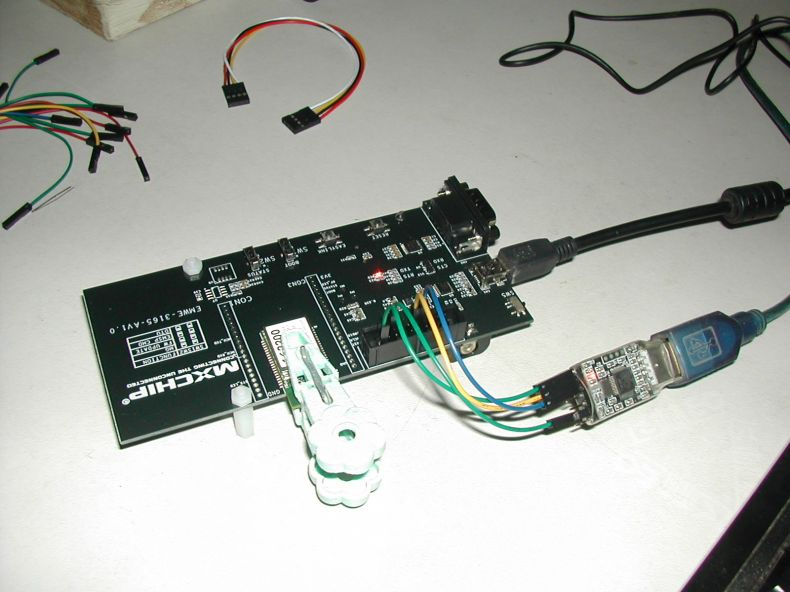 Flashing EMW3165 Dev Board with wifiMCU firmware