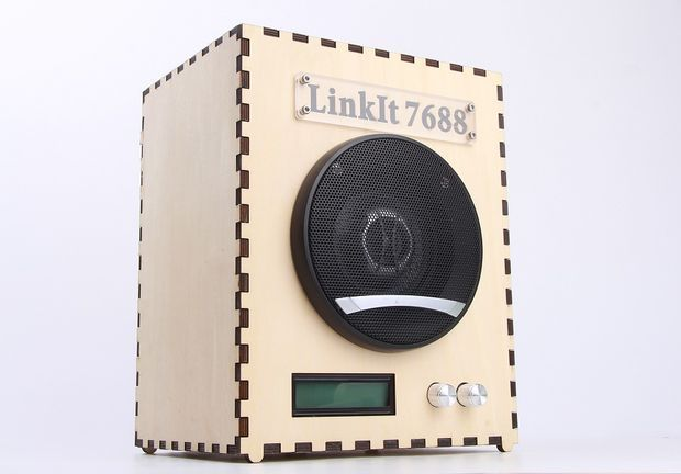 DIY a Wi-Fi Speaker with LinkIt Smart 7688