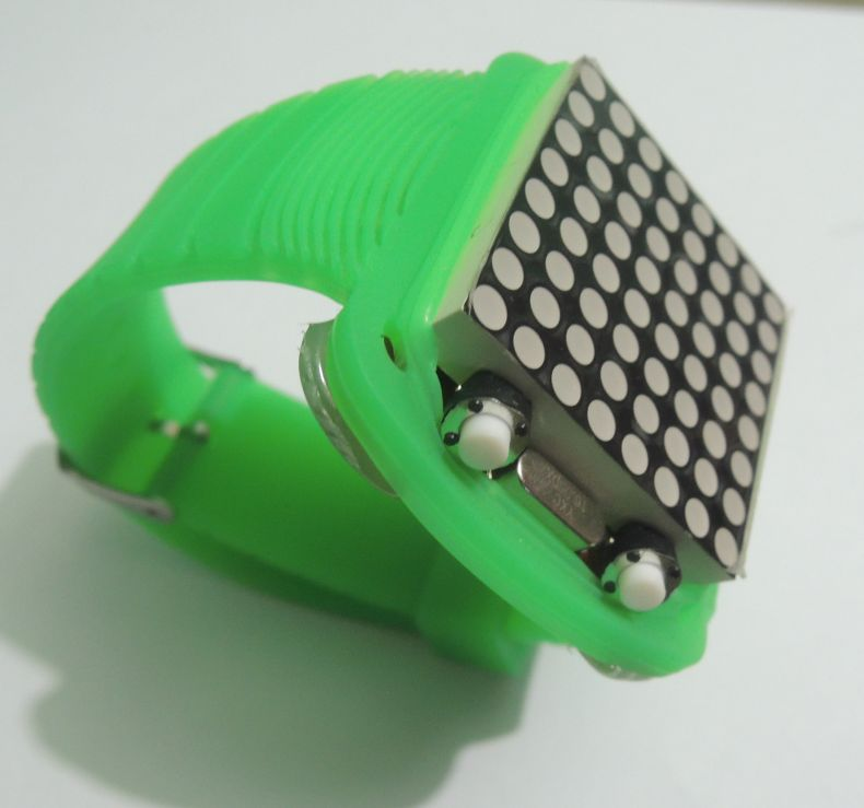 DIY Arduino Dot Matrix Watch