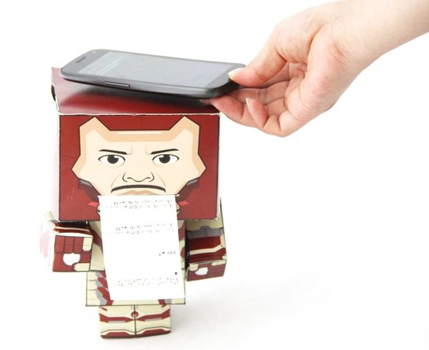 Paper Man, an interesting object to interact with Android