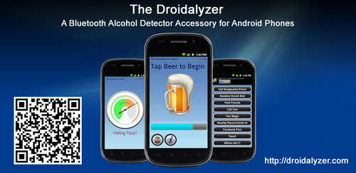 The Droidalyzer - An open source, Bluetooth alcohol detector accessory for Android Phones