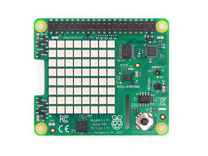 Raspberry Pi Sense HAT - Make your own Astro-Pi