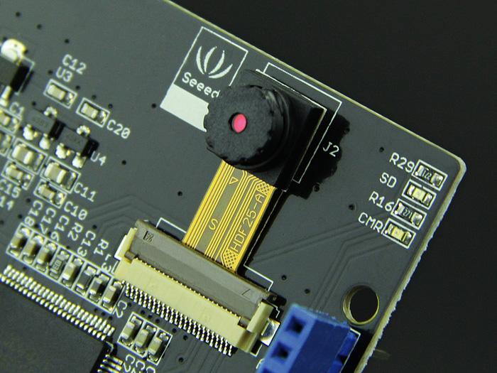 Camera Shield - Shield for Arduino - Seeed Studio