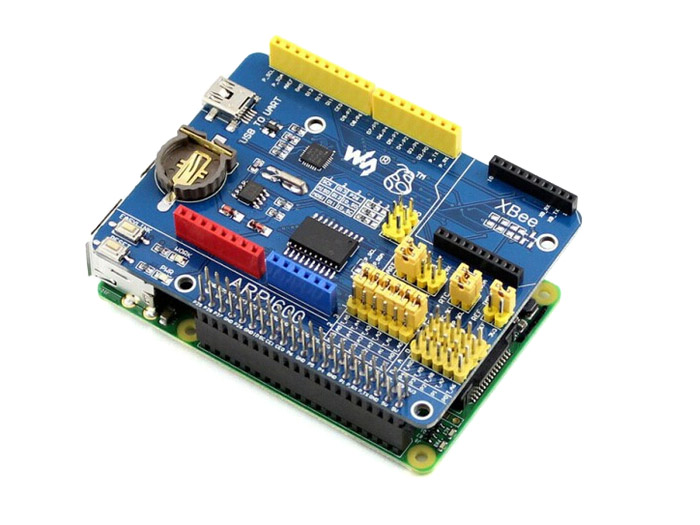 Raspberry Pi Icd shield and arduino raspberry pi gsm