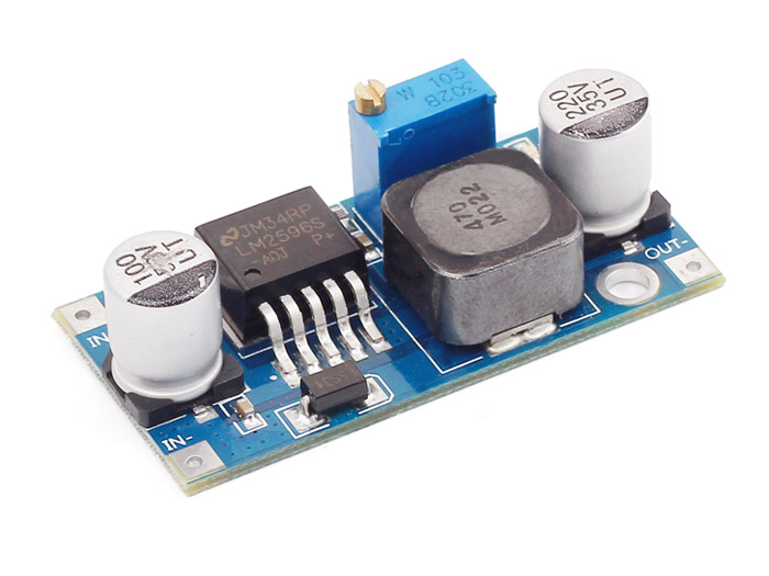 Adjustable DC&DC Power Converter (1.25V - 35V&3A)