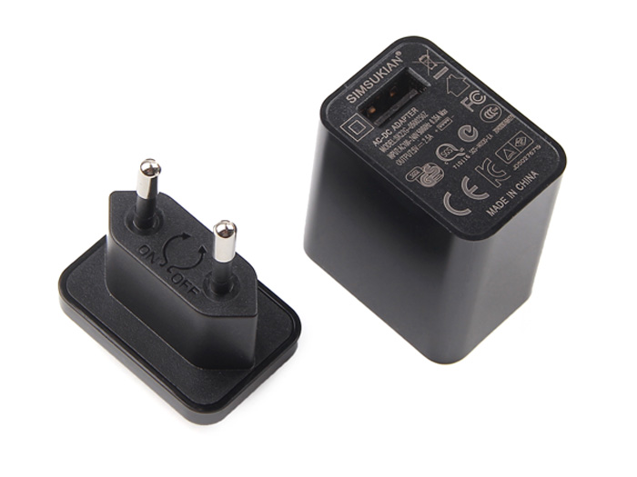 USB Power Adapter - European