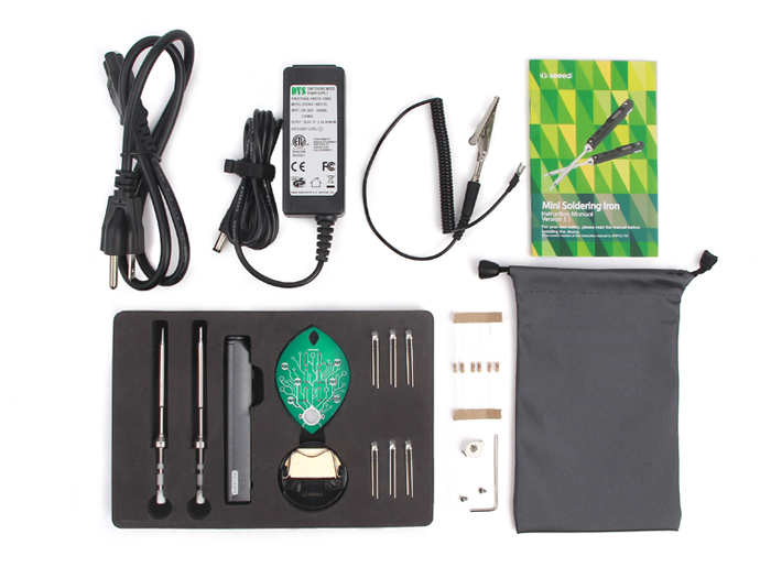 Mini Soldering Iron Deluxe Kit (US Standard)