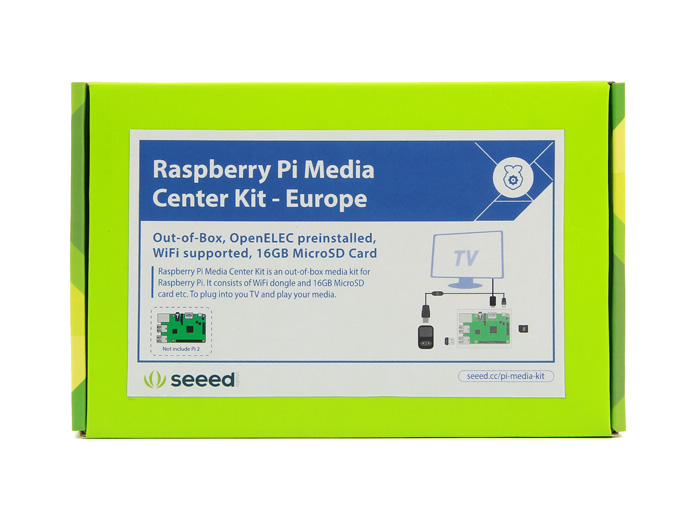 Raspberry Pi Media Center Kit - Europe