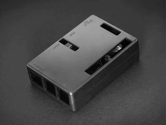 Raspberry Pi B+&2 Enclosure - Black