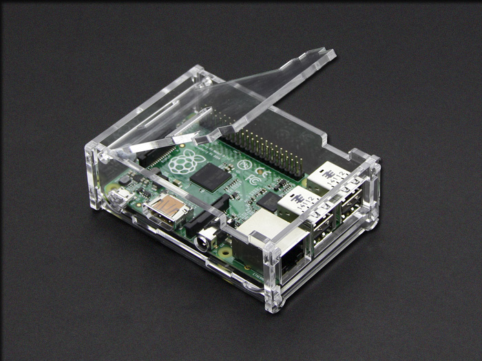 Raspberry Pi B+&2&3 Acrylic Enclosure