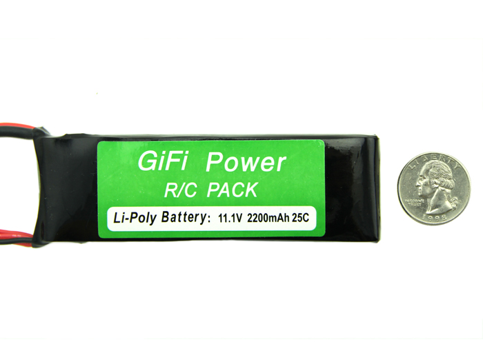 Polymer Lithium Ion Battery - 2200mAh 11.1V