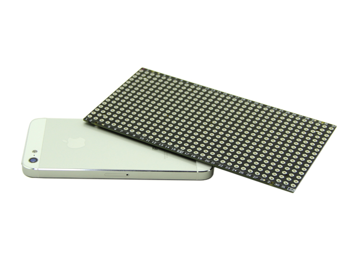 Ultrathin 16x32 Red LED Matrix Panel