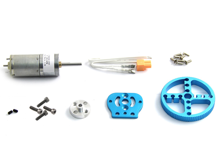 Makeblock 25mm DC Motor Pack - Blue