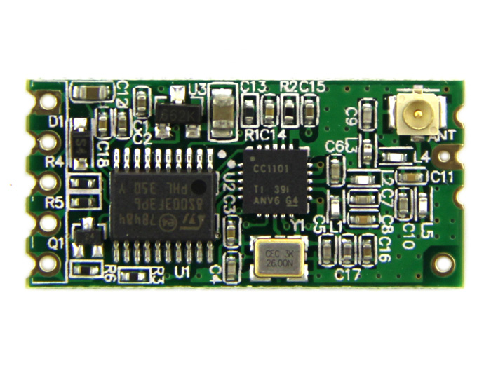 434Mhz Wireless Serial Transceiver Module - 40 Meters