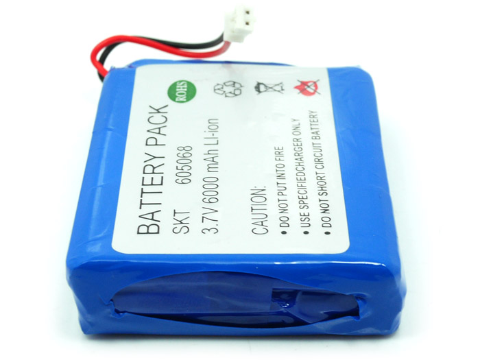 Lithium Ion polymer Battery pack - 6A