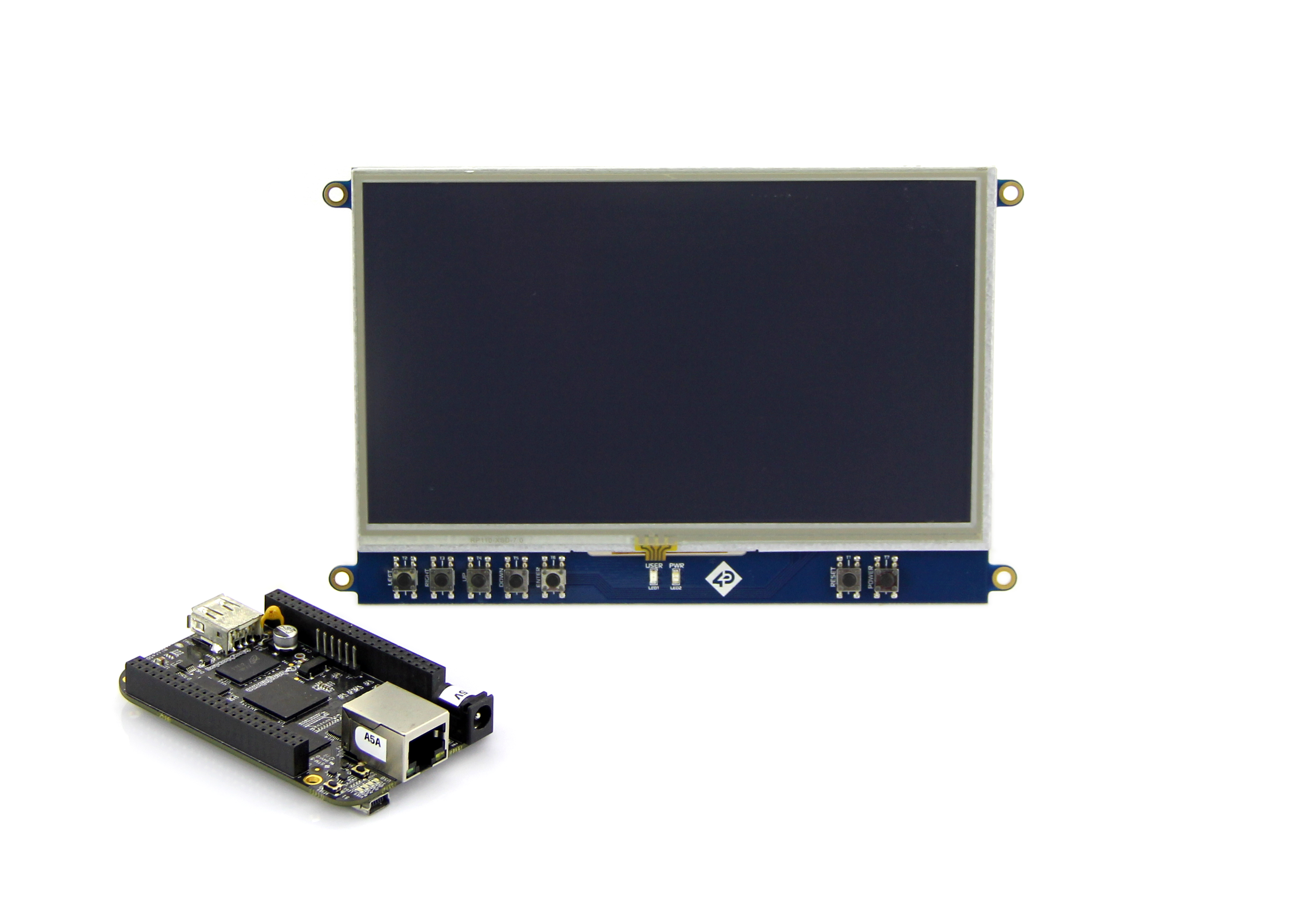 7 Inch LCD Cape for Beagle Bone Black - Touch Display