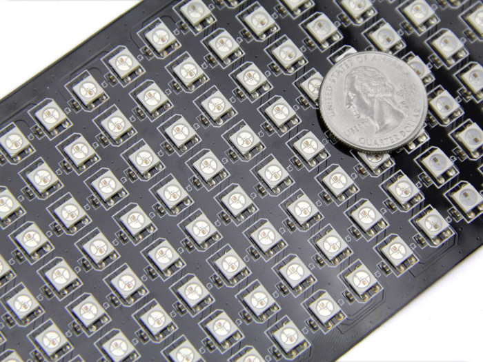 8x32 RGB LED Matrix w& WS2812B - DC 5V