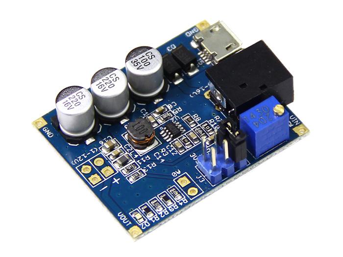 Adjustable DC&DC Power Converter (1V - 12V&1.5A)