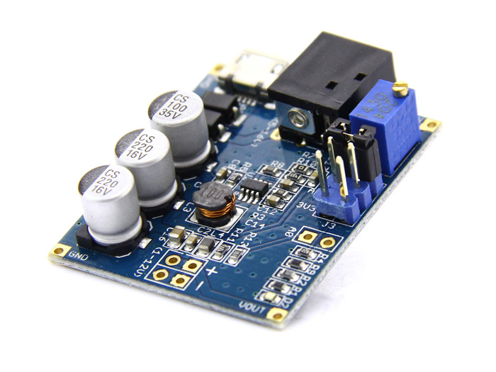 Adjustable DC&DC Power Converter (1V - 12V&1.5A)