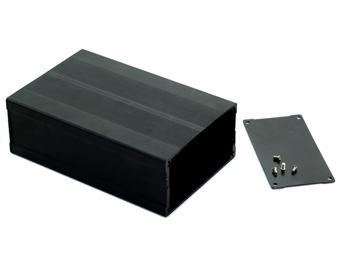 Aluminum Case Black - 163*106*55 (mm)