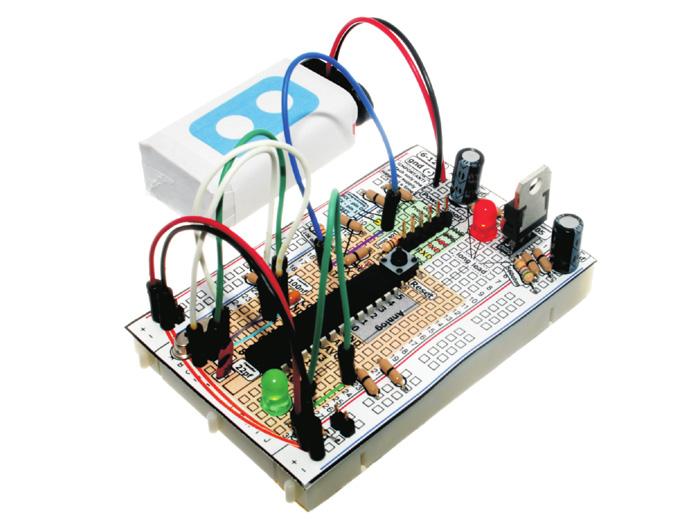 BBAC - Breadboard Based Arduino Compatible