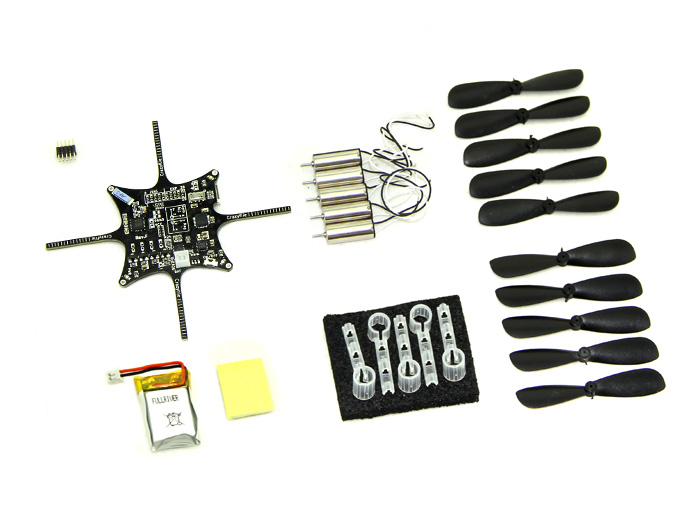Crazyflie Nano Quadcopter Kit 10-DOF (BC-CFK-04-A)