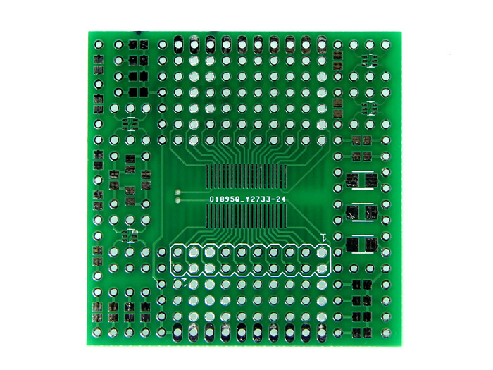 The SMDProtopad - 43oh SMD Prototyping Launchpad Boosterpack
