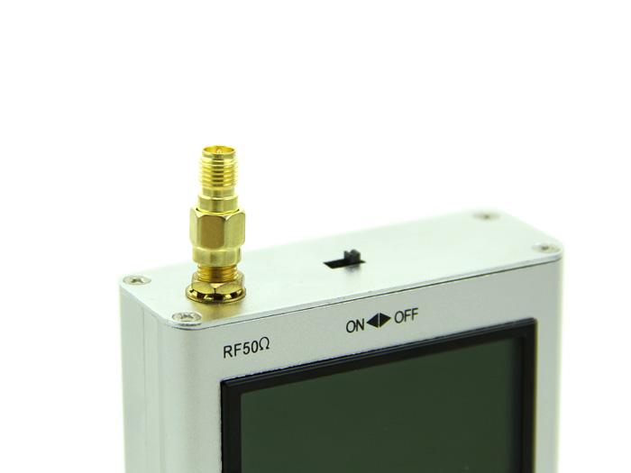 RF Adapter RP-SMA Jack to SMA Plug straight-long version