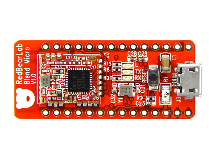 Blend Micro - an Arduino Development Board with BLE