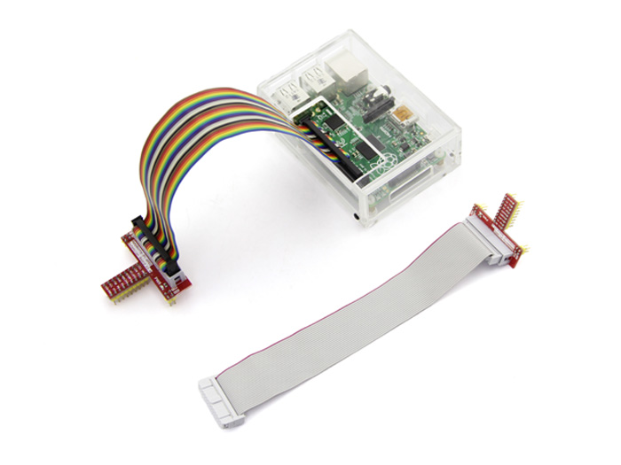 Breakout Kit for Raspberry Pi B w& 40pin to 26pin Cable