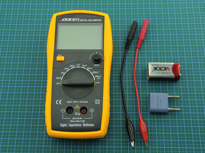 Digital Capacitance Meter