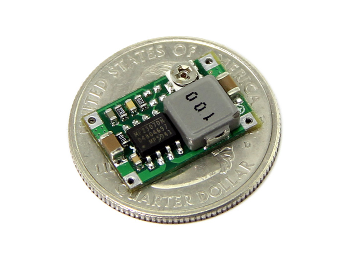 Adjustable Step-Down DC&DC Converter (1.0V - 17V&1.8A)