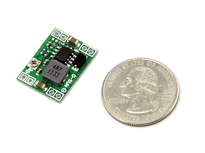 Adjustable Step-Down DC&DC Converter (0.8V - 18V&3A)