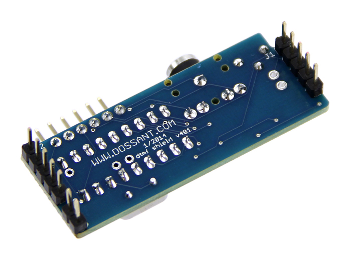 DTMF(Dual Tone Multi Frequency) Shield