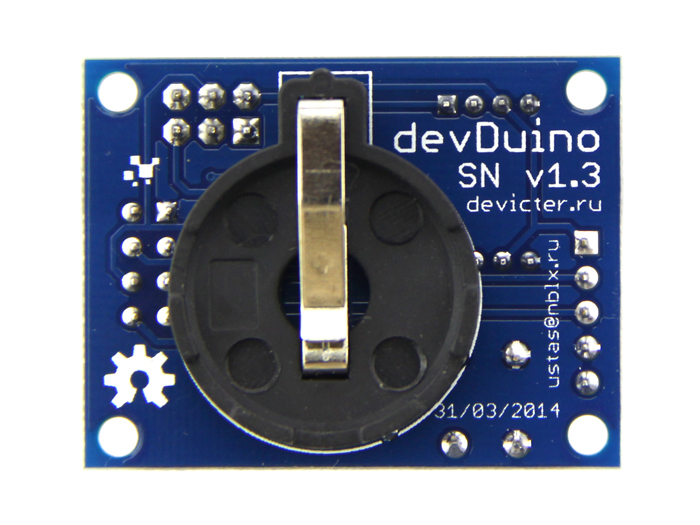 DevDuino Sensor Node V1.3 (ATmega 328) - RC2032 battery holder