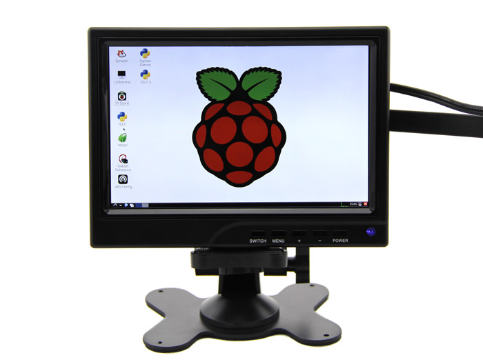 7 Diagonal - 1280x800 IPS HDMI&VGA&NTSC&PAL Display