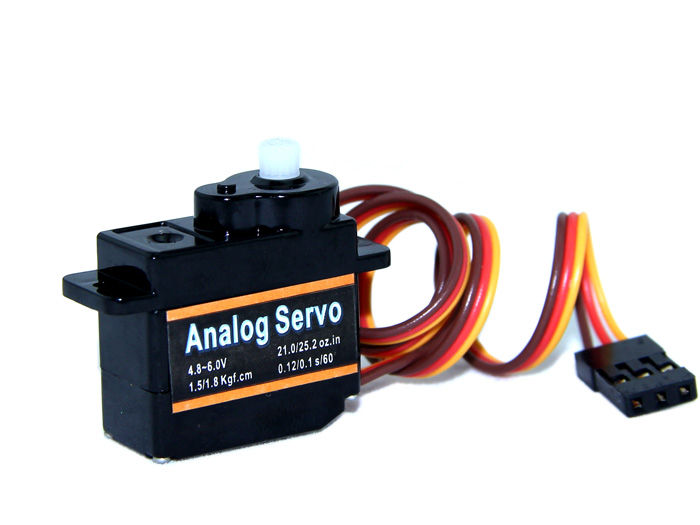 EMAX 9g ES08A High Sensitive Mini Servo